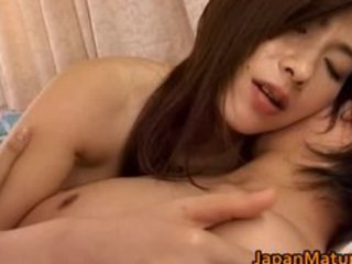 japanese aged woman has cute part8