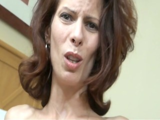 son blackmailes mamma and cums inside of her 3