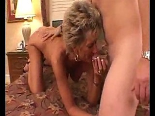 sexy busty mature cougar oral pleasures
