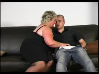 aged bbw can youthful cock