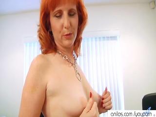 redhead mother i bonks hirsute pussy