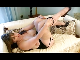 busty d like to fuck fingers in nylons