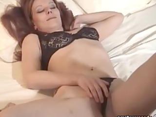 milf underware amateur masturbating exgf solo