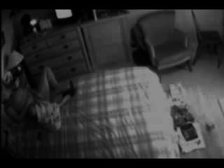 my mom in bed room caught masturbating