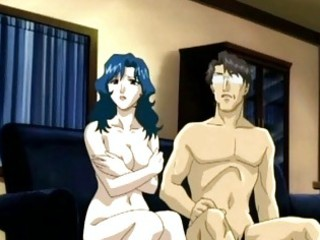 anime mama sexy engulfing inflexible pecker and