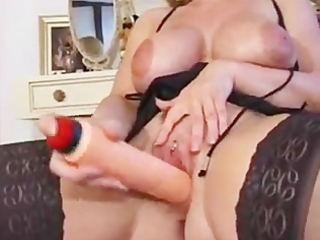 extraordinary horny mature with pierced muff
